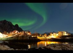The northern town of Tromsø teems with Aurora Borealis activity when those extended summer days are long gone. Its location above the Arctic Circle, and within the Northern Lights zone, makes it one of the top places to view shimmering green lights.The town also boasts the world's most northerly university, brewery, and planetarium. You can cruise Norway's fjord-lined coast aboard a Hurtigruten ship and get wake-up calls to head out on the deck when the lights appear.