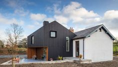 Old School Killygarry, refurb and extension by Craftstudio Architecture Old School House, Exterior Makeover, Restaurant, House Extensions, School Architecture, Contemporary Architecture, Old Houses, New Homes, House