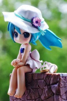 Polymer Clay Dolls, Polymer Clay Crafts, Anime Figurines, Anime Toys, Cute Clay, Clay Figures, Cute Chibi, Cute Dolls, Hatsune Miku