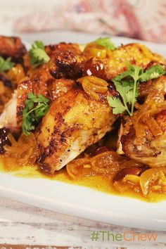 The amazing taste of this Moroccan Roast Chicken will be well worth the wait!