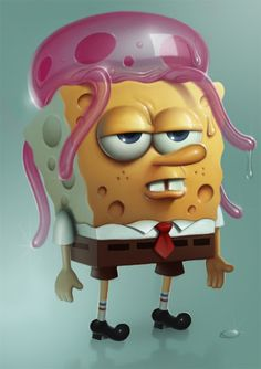 Muddy Colors: SpongeBob SquarePants in 15 steps