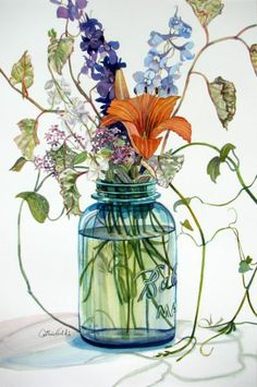 Early June in a Ball Jar:  Catherine Hillis