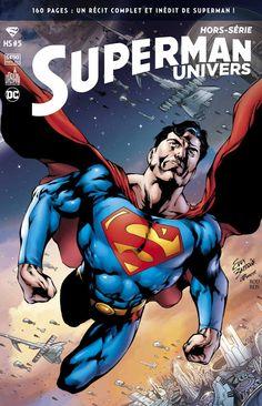 SUPERMAN UNIVERS HORS SERIE tome 5 (24 mars 2017) // Une saga complète de Superman !  James ROBINSON et Sterling GATES nous propulsent au coeur de la saga « War of the Supermen », où Superman affronte Zod et ses sbires. Affrontant des ennemis aussi puissants que lui, Superman ne disposera que d'une centaine de minutes pour sauver la Terre. #superman #hors #serie #universe #urbancomics