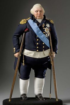 King Louis XVIII - Weighed Down by ill Health, any Chance of Vigorous Reform or Progress was Impossible