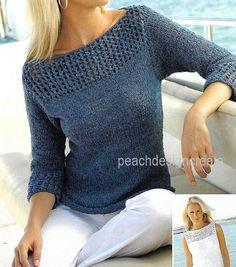 Knit Vest Pattern, Sweater Knitting Patterns, Knit Patterns, Knitting Sweaters, Swatch, Summer Sweaters, Sweaters For Women, Top Tee, Lady