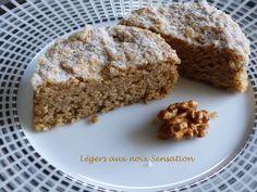Légers aux noix Sensation P1140904 R Dessert Sans Gluten, Cake Factory, Biscuit Cookies, Macarons, Tea Time, Biscuits, Banana Bread, Muffins, Gluten Free