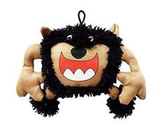 Monster Dog Toy | Scary Big Mouth Monster | 9 Inch | Plush Dog Toy | We Squeak!
