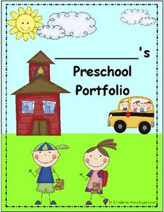 Preschool is an exciting time! It's a child's first years in a school setting and it's a year of tremendous growth!! This is an excellent way to sh...