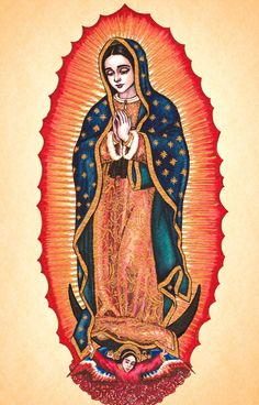 Our Lady of Guadalupe by Theophilia.deviantart.com on @deviantART