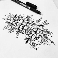 """2,759 lượt thích, 10 bình luận - Fer Solley (@sollefe) trên Instagram: """"Flores flores flores Cuál es su plan de fin de semana? Para pedir tatuajes, diseños y…"""""""