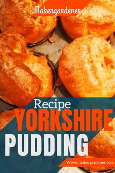 How to make British yorkshire pudding at home with some simple ingredients and an oven. #yorkshirepudding