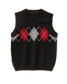 Rhys - Argyle Sweater Vest $15 Crazy 8
