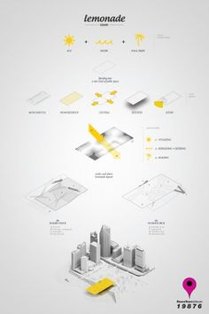 [A3N] : Landmark Miami Design Competition Winners 2013 ( 2nd Prize  : LEMONADE SQUARE ) / David Giraldeau, Alexandre Guilbeault (Canada).