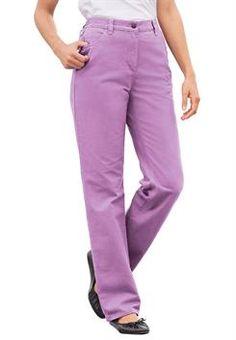 1fac378379f56 Plus Size Pants and Khakis for Women. 100 Cotton JeansPantsuits ...