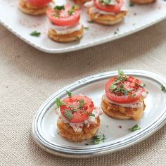Small in size but big in taste, these hot browns will be the hit of your Kentucky Derby party!