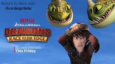 Just in time for a summer Netflix marathon, season 3 of DreamWorks Animation's Dragons: Race to the Edge premieres exclusively this Friday, June 24th! Ready for some clips and sneak peeks into the all-new action season with Hiccup, Toothless and our favorite Dragon Riders? In season 3 of DREAMWORKS DRAGONS: RACE TO THE EDGE, the high-stakes continue as the Riders …