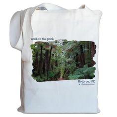 NZ Canvas Bag - Redwood Forest, Rotorua, New Zealand Rotorua New Zealand, Redwood Forest, Gray Background, Cool Designs, Canvas Bags, Kiwi, Prints, Products, Gadget
