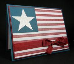 Quick Patriotic Card by J_Belanger - Cards and Paper Crafts at Splitcoaststampers