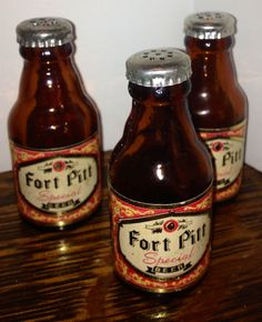 3 Pieces Fort Pitt Special Beer Salt & Pepper by forMadison, $7.00