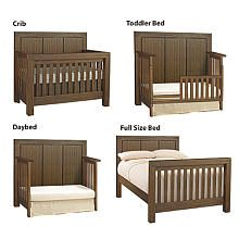 Video Review for Oxford Baby Piermont 4-in-1 Convertible Crib - Rustic Farmhouse Brown showcasing product features and benefits
