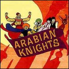 The Arabian Knights from The Banana Splits Show _ L-r: Raseem, Fariek, Bez, Nida, Turhan, Zazoom.