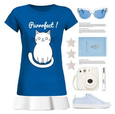 """""""Purrrfect :) !!!"""" by lana-drazic-posao ❤ liked on Polyvore featuring Fujifilm, Givenchy, Mark Cross, Kate Spade, philosophy and Alinka"""