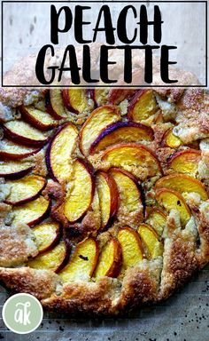 This is my favorite dessert: peach-frangipane galette. Here I share my recipe for foolproof all-butter pastry dough, which comes together in no time. There is video guidance for both the pastry and the galette assembly. #peach #galette #french #frangipane #easy #pastry #butter #pie #dough Butter Pastry, Butter Pie, My Recipes, Dessert Recipes, Favorite Recipes, Desserts, A Food, Good Food, Biscuits