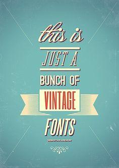 Fonts, a major design element