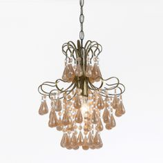 Room-33 - Tiffany 1-Light Plastic Mini Chandelier in Light Pink Pearl, $130.00 (http://www.room-33.com/tiffany-1-light-plastic-mini-chandelier-in-light-pink-pearl/)