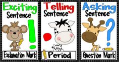FREEBIE Punctuation posters