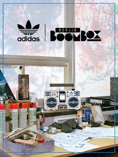 Adidas Originals Berlin Boombox by Axel Pfaender & No74 Store Torstrasse Berlin