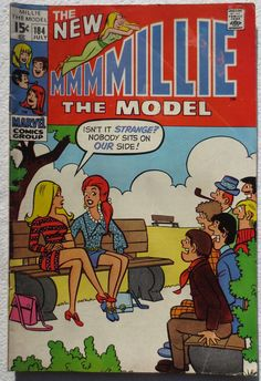 Vintage Comic Book 1970 MILLIE THE MODEL 1970s | Flickr - Photo Sharing!