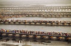 El festival Kumbh Mela de 2001. Steve McCurry