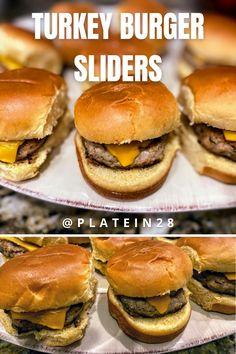 Easiest Turkey Burger Sliders