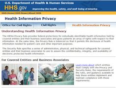 HIPAA - The Health Insurance Portability and Accountability Act - has been largely ignored by small businesses since it was past in the mid 1990's. The Privacy Rule of HIPAA was published in 2000 and modified several times since then. Major revisions were implemented this year and final enforce is effective September 23, 2013.