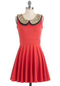 $47.99 Two Happy Hearts Dress, #ModCloth