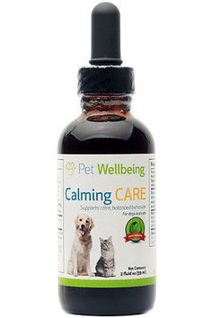 Health Care 177787: Pet Wellbeing Calming Care For Cat And Dog Anxiety And Stress 2 Fl Oz (59 Ml) Liquid BUY IT NOW ONLY: $50.95