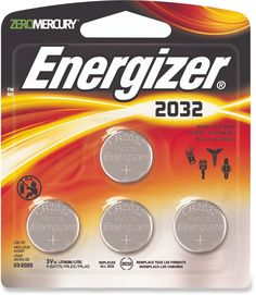 Energizer Cr2032 Coin Cell Lithium Batteries - Package Of 4