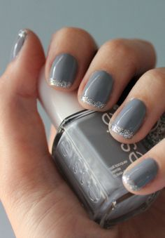 Gray with a splash of sparkle