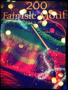 New on StixOnTheBeach.com: Blanket Statement  #FairIsle #Knitting #Craft