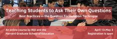 Teaching + Learning - Right Question Institute