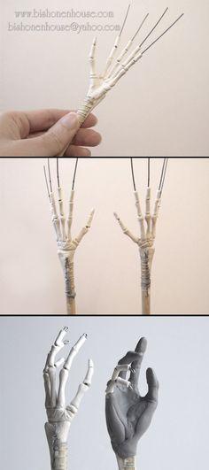 Hand Sculpting Progress by =BishonenHouse on deviantART