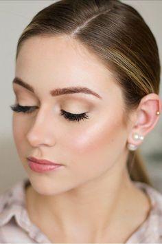 natural bridal makeup fresh face with close eyes marisarosemph