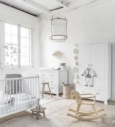 Almost al white nursery! Crispy clean baby's room Mi cuarto mola | Ventas en Westwing