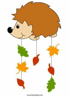 Herbst Coffin Nails coffin nails meaning Diy Crafts For Kids, Art For Kids, Arts And Crafts, Paper Crafts, Autumn Crafts, Autumn Art, Leaf Projects, Hedgehog Craft, Paper Umbrellas