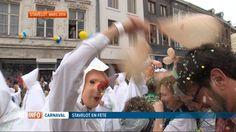 Ce week-end, c'est le 514e carnaval du Laetare (mi-carême) à Stavelot (B) Le point d'orgue: le cortège dans les rues de la ville avec, en apothéose, le rondeau des Blancs Moussis...