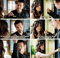 I HATE the fist bump explosion thing too. Lol Chicago PD