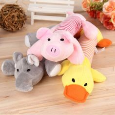 2017 Hot Sale - New Dog Toys Puppy Chew Squeaker     Tag a friend who would love this!     FREE Shipping Worldwide     Get it here ---> http://sheebapets.com/2017-hot-sale-new-dog-toys-pet-puppy-chew-squeaker-squeaky-plush-sound-duck-pig-elephant-toys-3-designs-free-shipping/