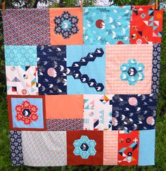 Tsuru Quilt from Sew and Sow Farms