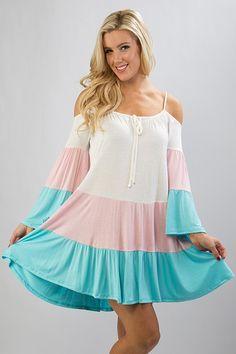 Color Block Dress (2 Colors)